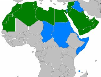 Arabian Countires Map